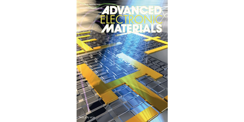 Our Paper is Selected for the Cover of Advanced Electronic Materials